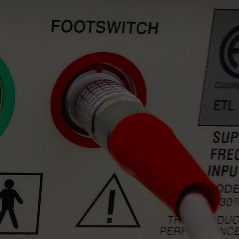 Laser Parts Footswitches